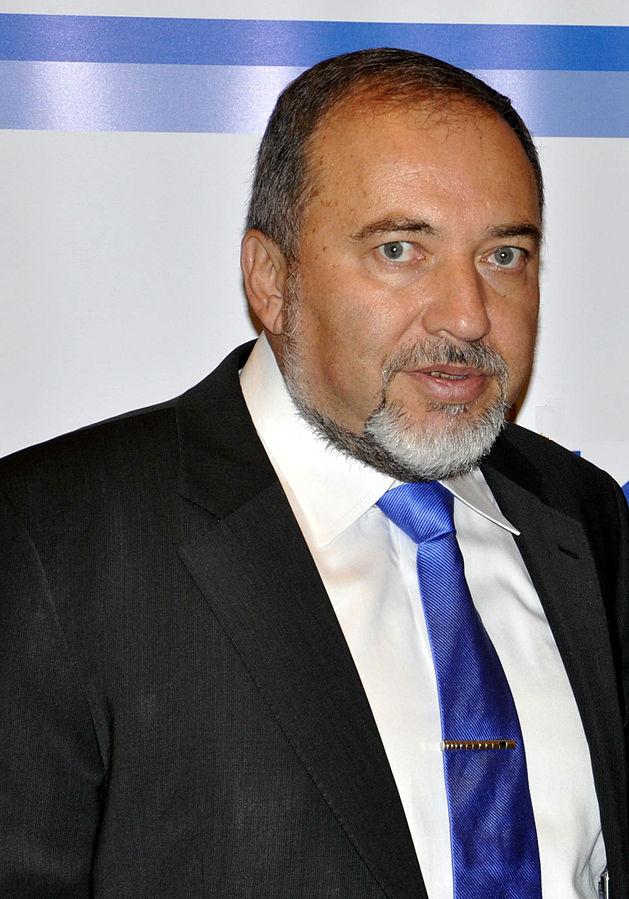 Na zdjęciu znajduje się Awigdor Lieberman