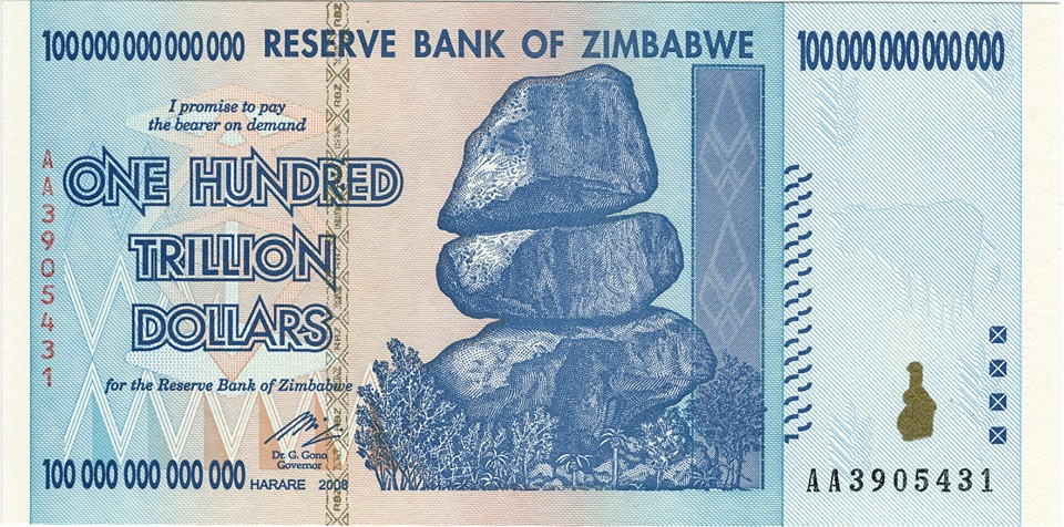 banknot mugabe
