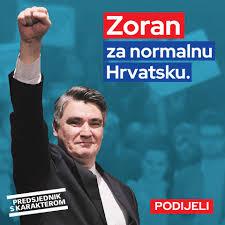 Zoran Milanović, prezydent Chorwacji