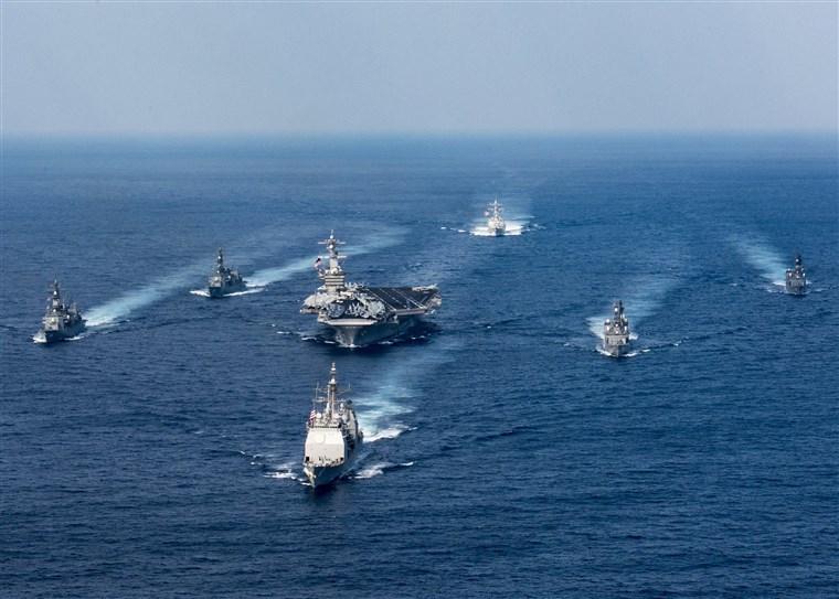 CSG należąca do US Navy